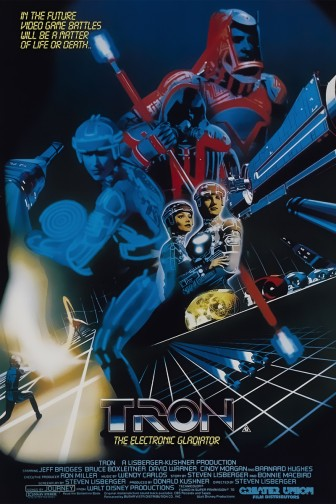 Tron Movie Poster