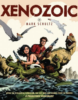 Xenozoic cover-by-Mark-Schultz