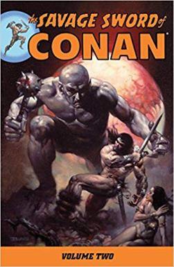 Savage Sword Conan cover