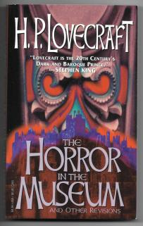 Horror in the Museum cover